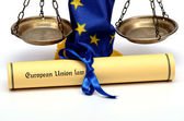 European Union Law — Stock Photo