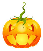Halloweens flashy pumpkin — Stock Vector