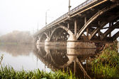 The bridge over the river — Stock Photo