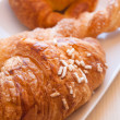 Brioches for sweet awakening — Stock Photo