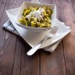Sacchettini di pasta all — Stock Photo