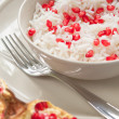 Stock Photo: Rice with pomegranate