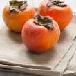 Persimmon fruit — Stock Photo