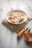 Carne de caranguejo — Foto Stock