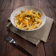 Vegetarian pasta — Stock Photo