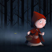 Little Red Riding Hood — Stockfoto