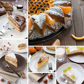 Cake composition — Stock Photo
