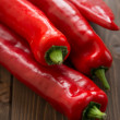 Red capsicum — Stock Photo