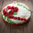 Decorated cake - Stock Photo