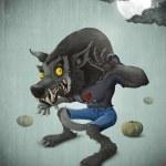 Постер, плакат: Halloween Wolfman