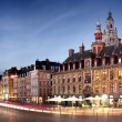 View of Lille city in France - Stock Photo