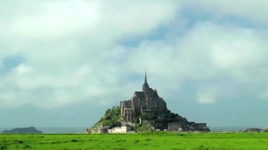 Mont saint Michel - France — Stock Video