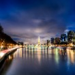 View of Paris by night - France — Stock Photo #16496075