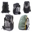 Trekking backpack on high definition isolated on a white backgro — Stockfoto