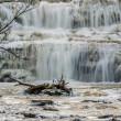 Stock Photo: Winter Waterfalls