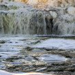 Stock Photo: Winter Water Falls