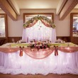 Decorated wedding table — Stock Photo #40958119