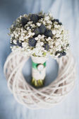 Bridal bouquet of Gypsophila — Stock Photo