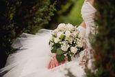 新娘婚礼花束 — 图库照片