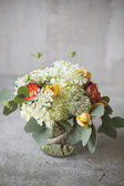 Wedding bouquet in a rustic style  — Stok fotoğraf