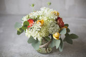 Wedding bouquet in a rustic style  — Stockfoto
