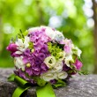 Pink and white wedding bouquet — Stock Photo #9172505