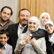 Muslim Arabic family  — Stock Photo
