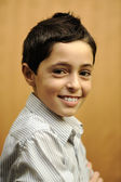 Portrait of an adorable young boy — Stock Photo