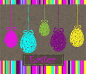 Happy Easter background — Vector de stock