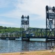 Lift bridge — Stockfoto
