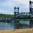 Lift bridge — Stock Photo