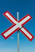Railroad Crossing — Stock Photo