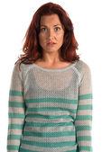 Suéter de rayas — Foto de Stock