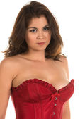 Red corset — Stock Photo