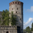The tower of the fortress of Olavinlinna (Olafsborg). Savonlinna, Finland — Stock Photo