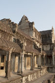 Fragment of the temple complex of Angkor Wat. Cambodia — Stock Photo