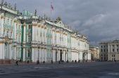 El día nublado otoño invierno palacio — Foto de Stock