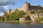 Vangorod fortress in the early autumn — Stock Photo
