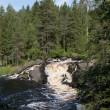Waterfall Ahvenkoski (Ruskealwaterfall), Karelia — Stock Photo #14808959