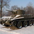 Stock Photo: Soviet linear tank BT-5