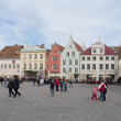 The Area Of The Town Hall. Old Tallinn — Foto Stock