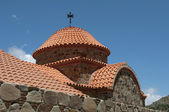 ,The dome of the Orthodox Church in the monastery Maheras, Cyprus — Stock Photo