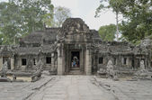 The ancient temple of Angkor Wat. Of Cambodia. — Stock Photo