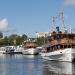 Stock Photo: Ancient ships at Savonlinna. Finland