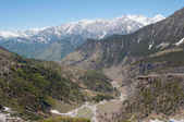 The upper reaches of the river Beas. Northern India, the state of Himachal Pradesh — Stock Photo