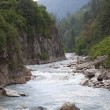 River Parvati. Northern India — Stock Photo