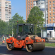 Stockfoto: Laying new asphalt