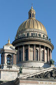 The dome of St. Isaac — Stock Photo