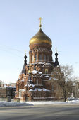 The Church of the Epiphany of the Lord in Saint-Petersburg — Stock Photo