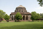 View of the mausoleum Sikandar Lodi. New Delhi — Stock Photo